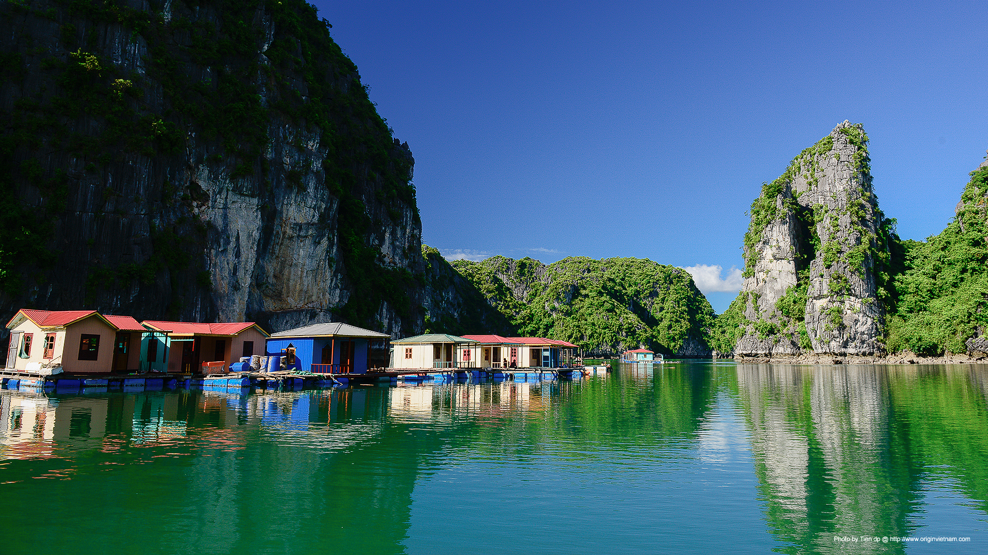Vung Vieng Fishing Village in Bai Tu Long Bay