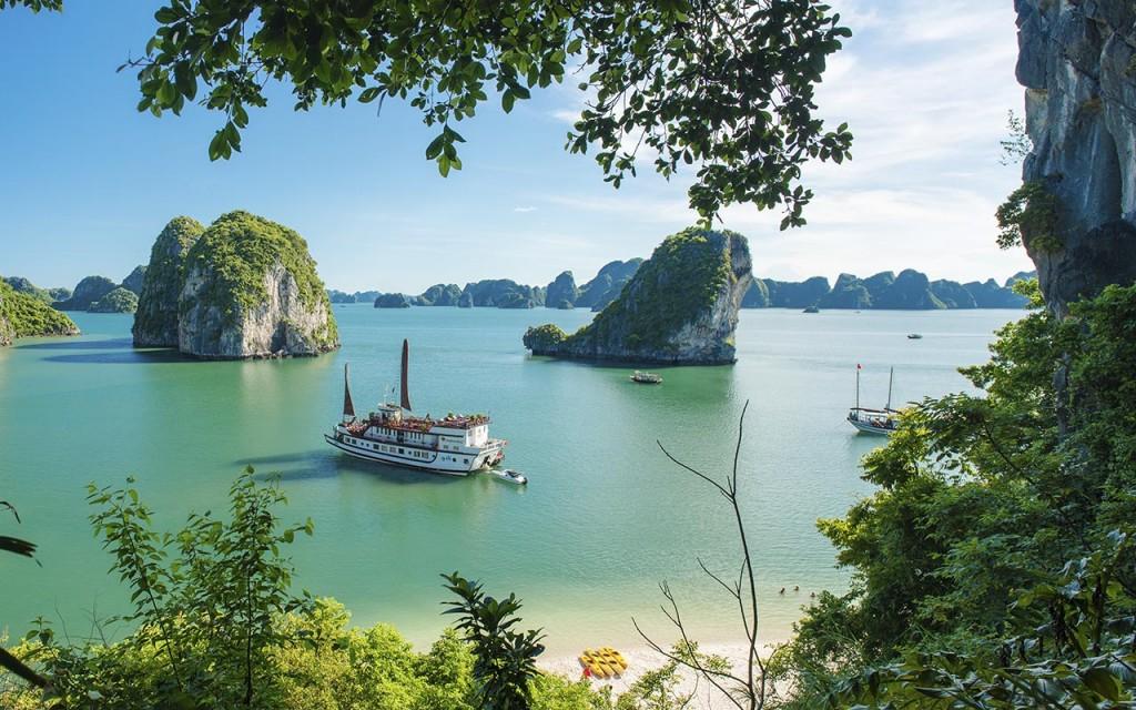 a halong cruise