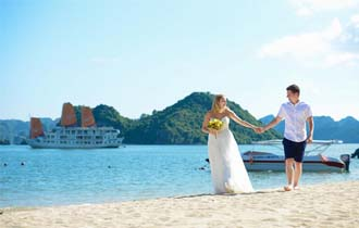wedding cruise in halong bay