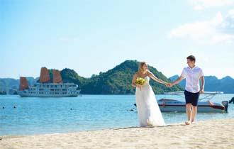 wedding cruise in halong bay