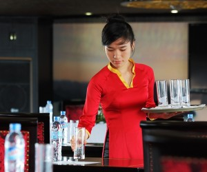 luxury dining service on starlight cruise halong