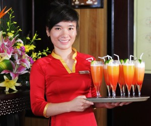 great collection of soft drinks on halong cruise