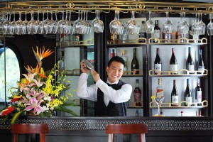 Great collection of wine on starlight best cruise in halong
