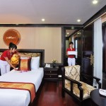 luxury best cruise service in halong bay