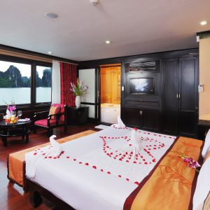 executive cabin on halong cruises