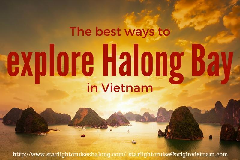 The best ways to explore Halong Bay in Vietnam